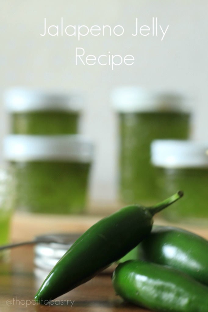 Jalapeno Jelly Recipe @thepetitepastry